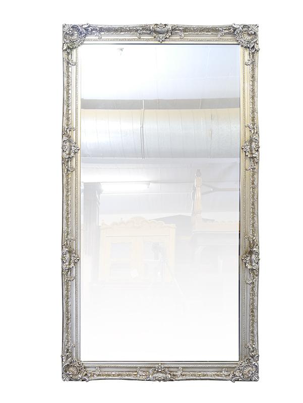 Wandspiegel silber im Barock Stil