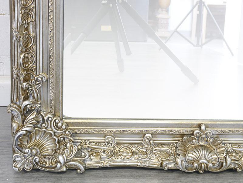 Spiegelrahmen in silber