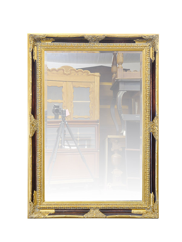 Großer Wandspiegel in gold