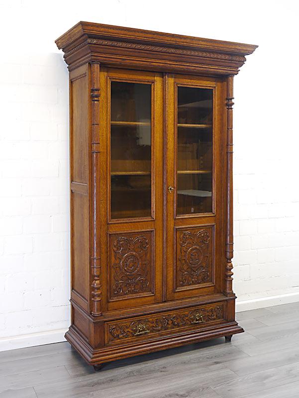 Gründerzeit Bücherschrank um 1880