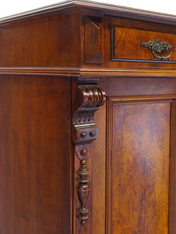 Detailansicht von den Zierornamenten