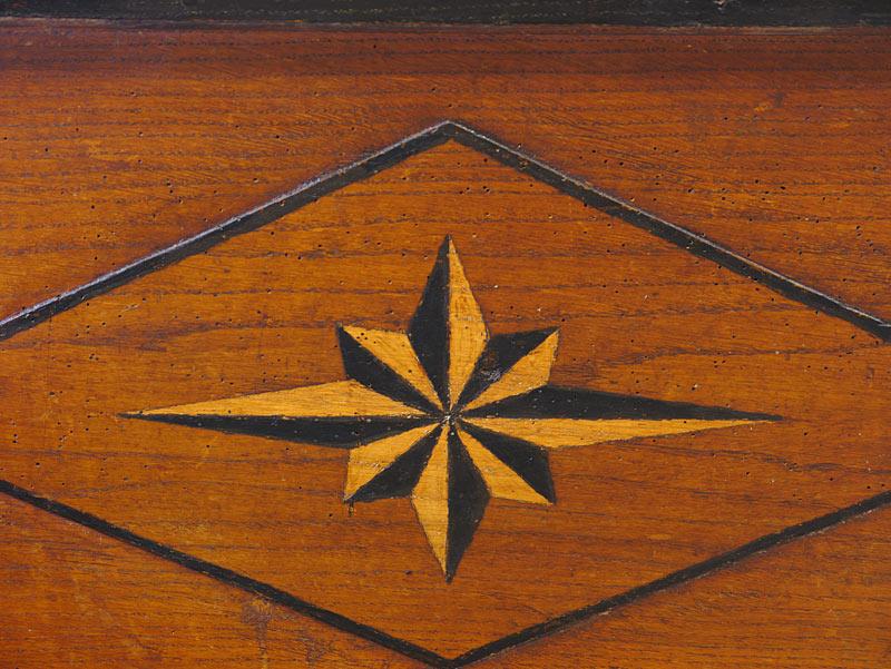 sternenförmige Malerei