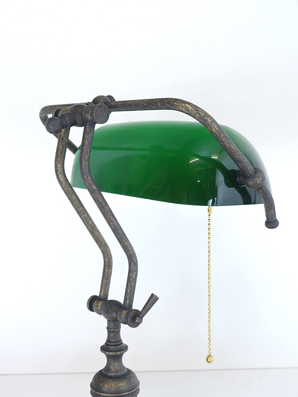 Detailansicht der Schreibtischlampe