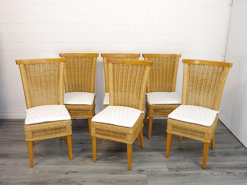 6 Stühle Landhausstil Set