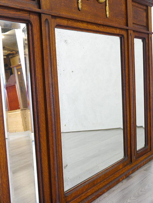 Detailansicht von der Spiegeloberfläche