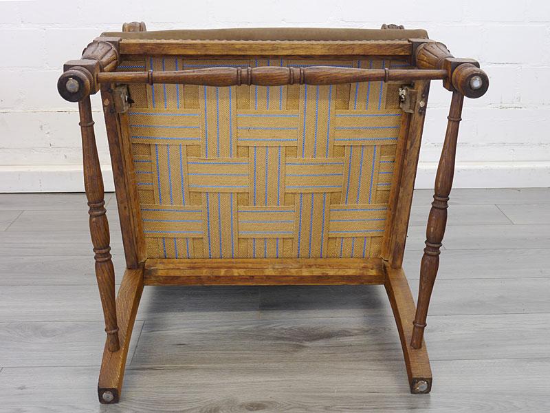 Unterseite der Stühle
