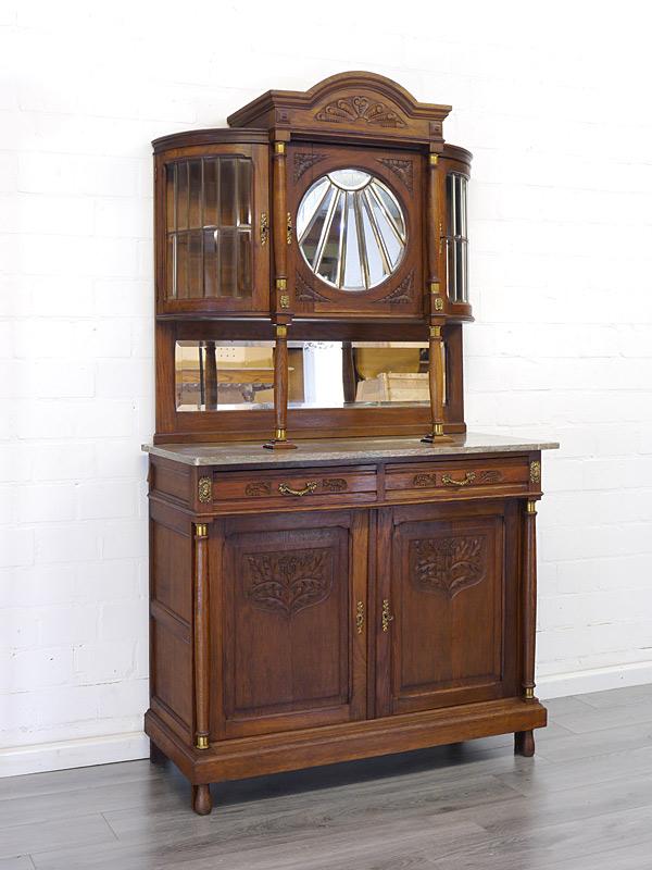 Rundbogen-Buffet antik um 1920