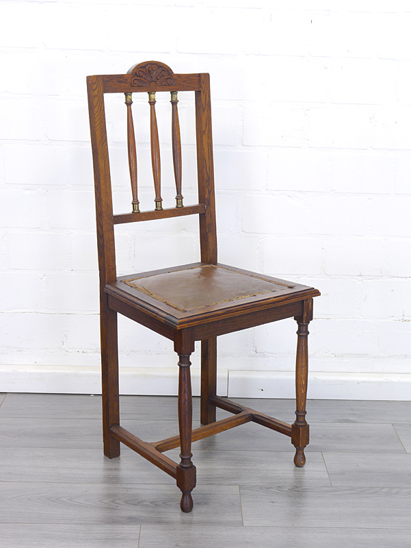 Antiker Stuhl aus Eiche