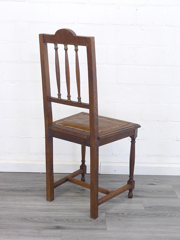Rückseite von einem Stuhl