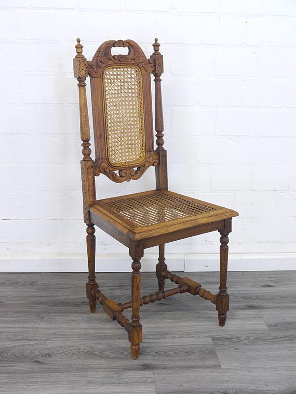 Stuhl aus Eiche