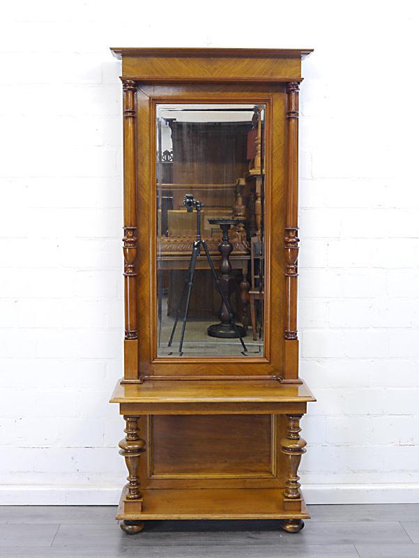 Spiegel mit Konsole antik