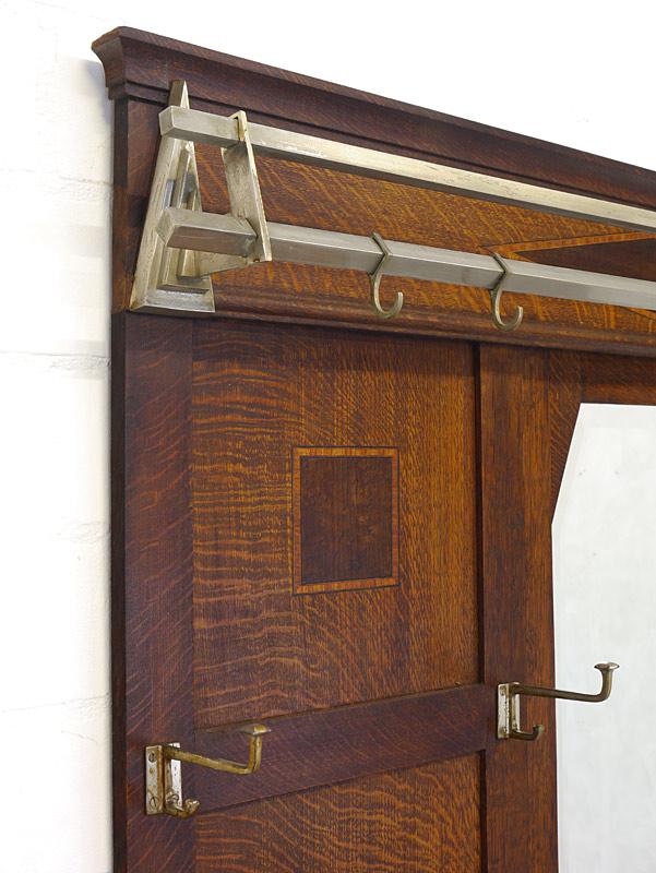 Detailansicht von den Garderobenhaken