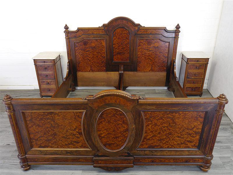 Antikes Schlafzimmer Gründerzeit