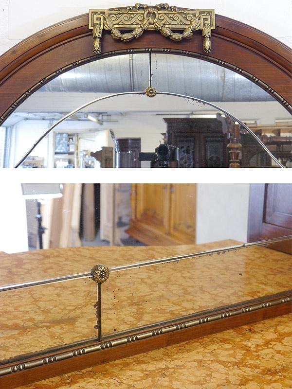 Detailansicht von dem Spiegel