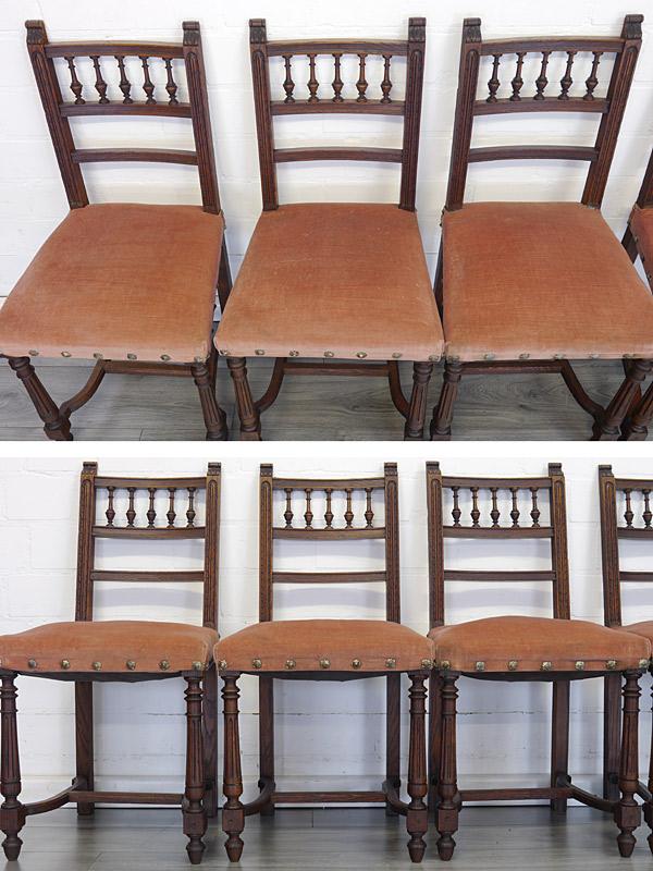 Nahaufnahmen von den Stühlen