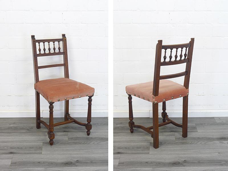 Vorder- und rückseite von dem Stuhl