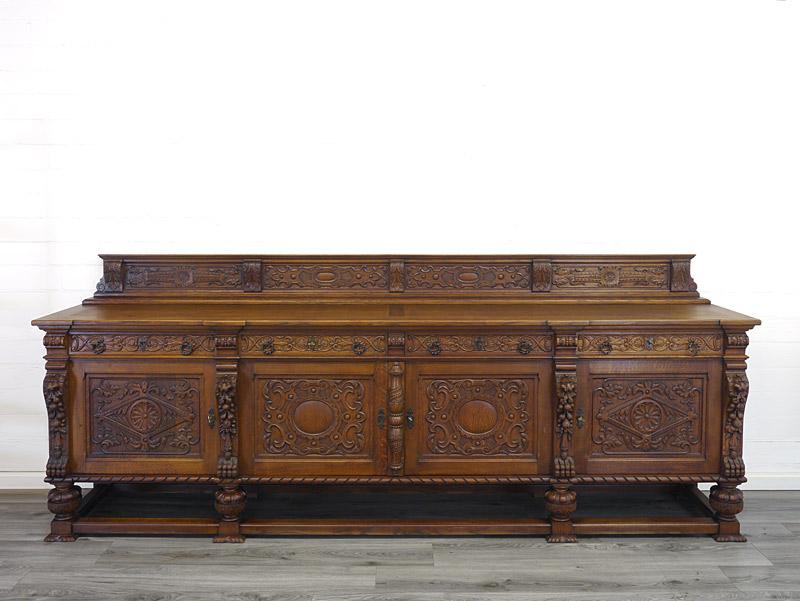 Langes Sideboard antik